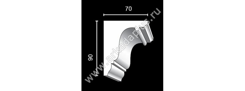 Profiled cornice С-490