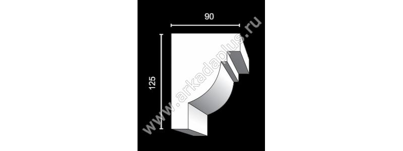 Profiled cornice С-492