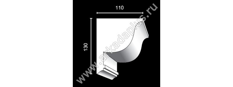 Profiled cornice С-493