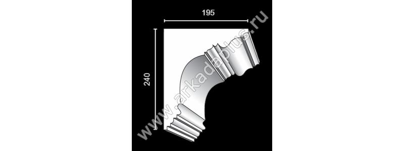 Profiled cornice С-494