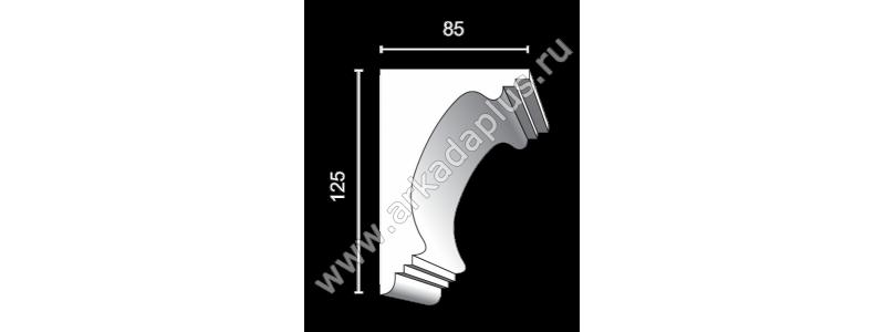 Profiled cornice С-496