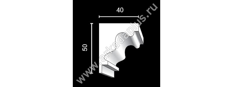 Profiled cornice С-498