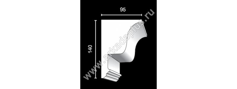 Profiled cornice С-499