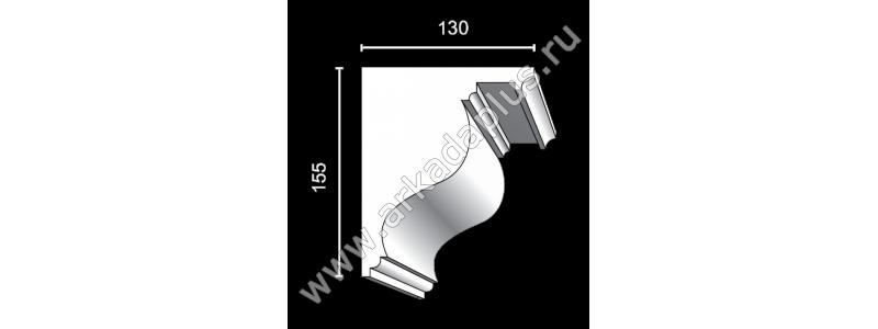 Profiled cornice С-500