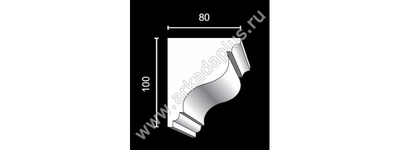 Profiled cornice С-501