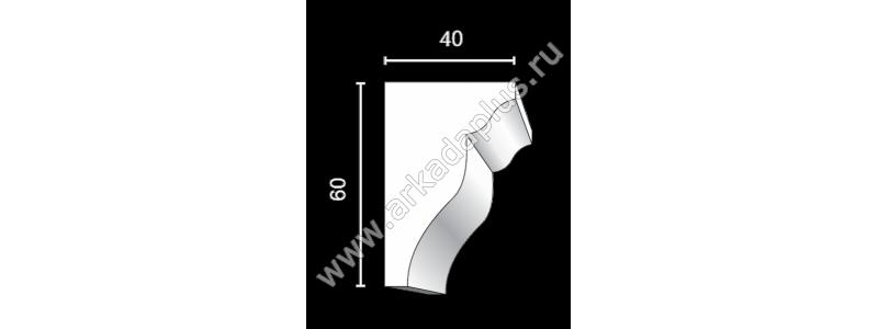 Profiled cornice С-502