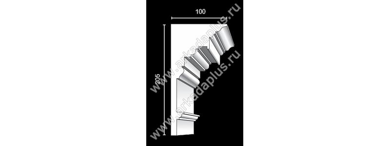 Profiled cornice С-503