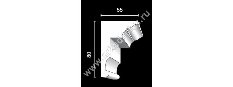 Profiled cornice С-504