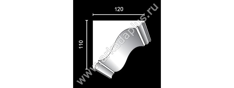 Profiled cornice С-505