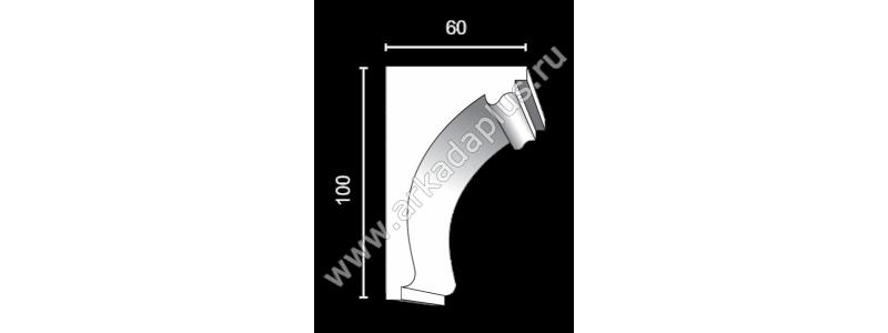 Profiled cornice С-507