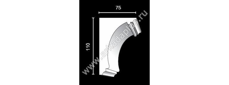Profiled cornice С-509