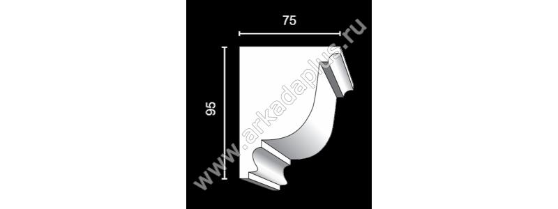 Profiled cornice С-511