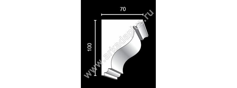 Profiled cornice С-512