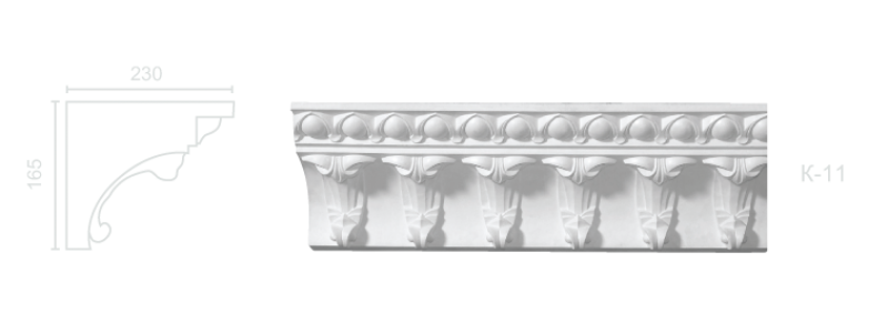 Enriched cornice С-11