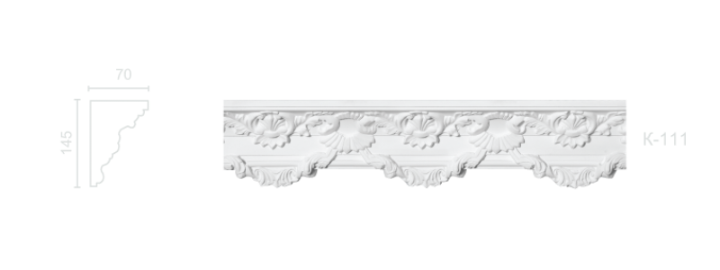 Enriched cornice С-111