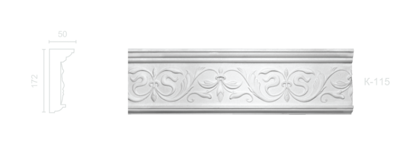 Enriched cornice С-115