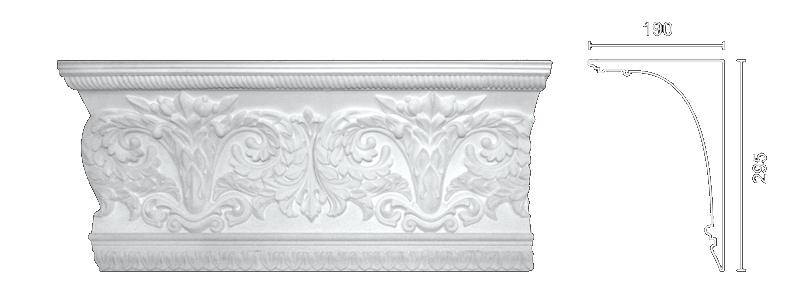 Enriched cornice С-152