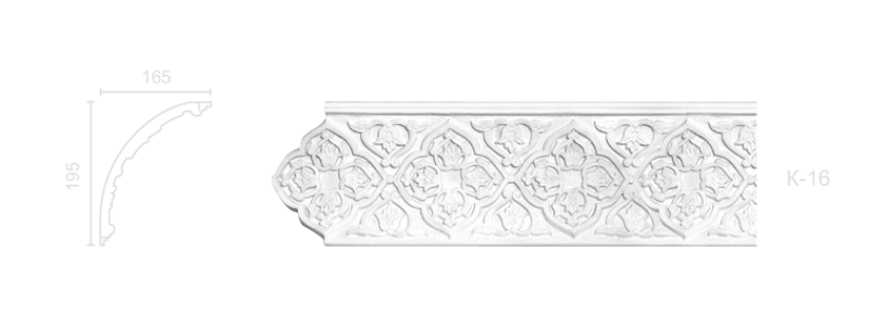 Enriched cornice С-16
