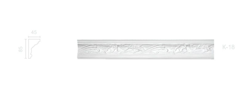 Enriched cornice С-18