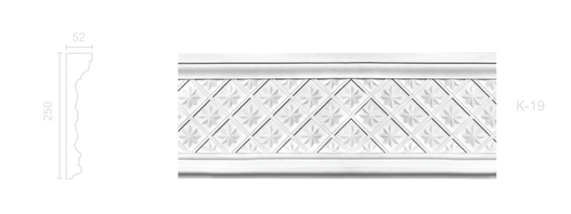 Enriched cornice С-19