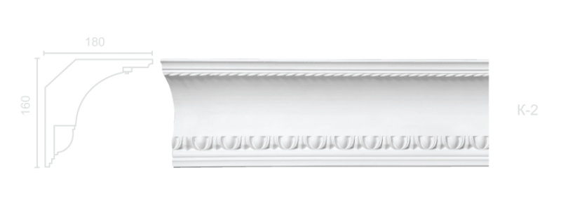 Enriched cornice С-2