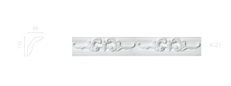 Enriched cornice С-21