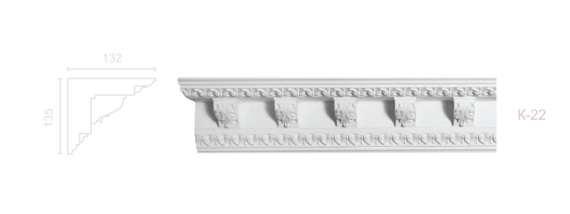Enriched cornice С-22