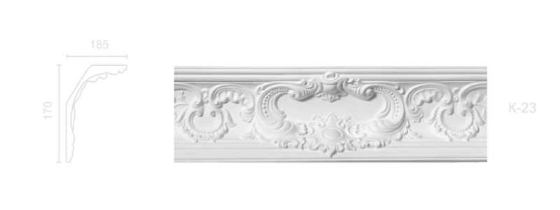 Enriched cornice С-23