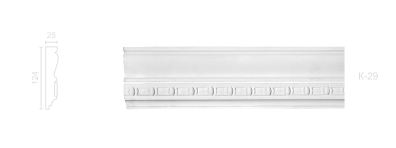 Enriched cornice С-29