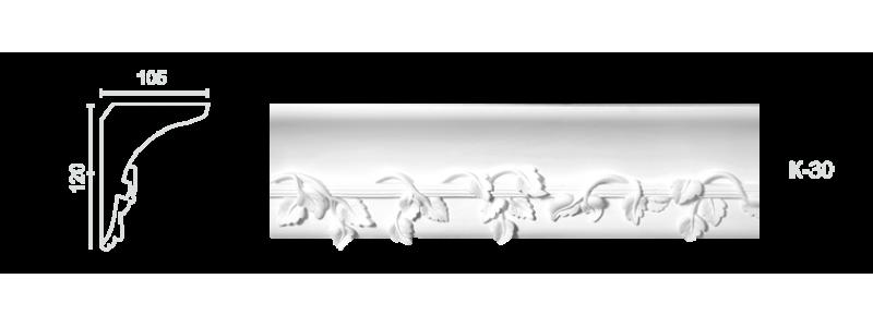 Enriched cornice С-30