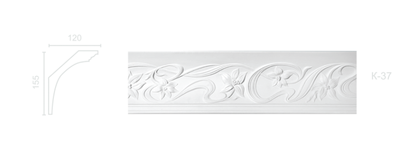 Enriched cornice С-37