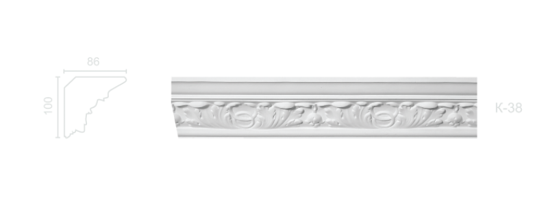 Enriched cornice С-38