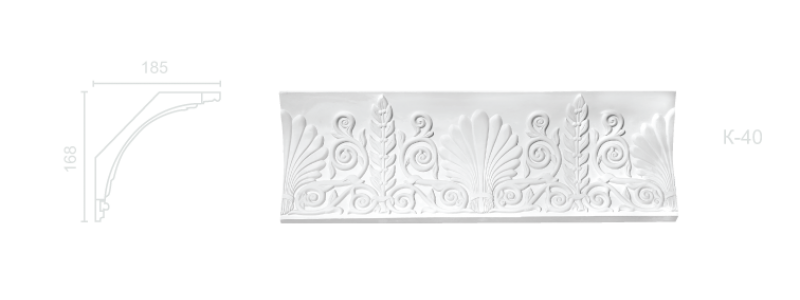 Enriched cornice С-40