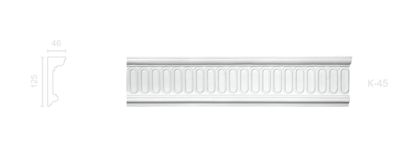 Enriched cornice С-45