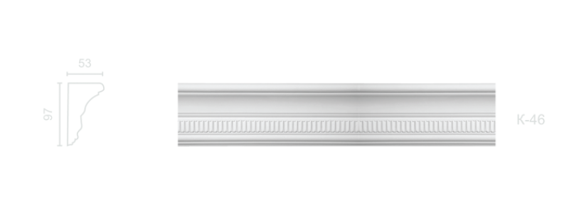 Enriched cornice С-46