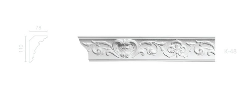 Enriched cornice С-48