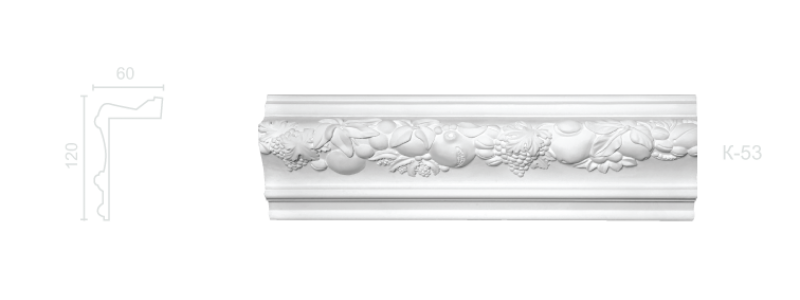 Enriched cornice С-53