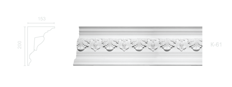 Enriched cornice С-61