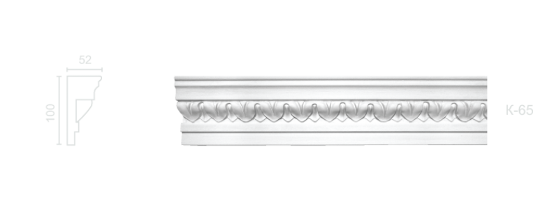 Enriched cornice С-65