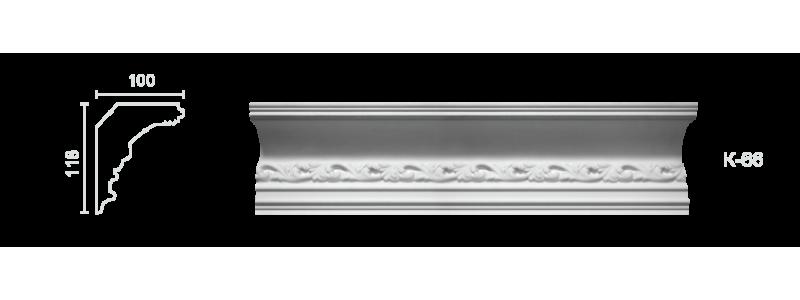 Enriched cornice С-66