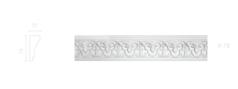 Enriched cornice С-78