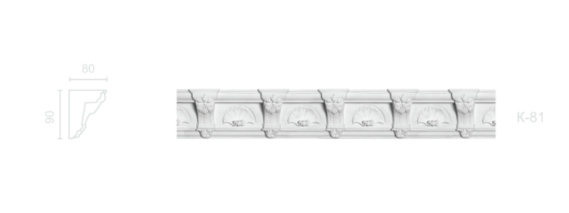 Enriched cornice С-81