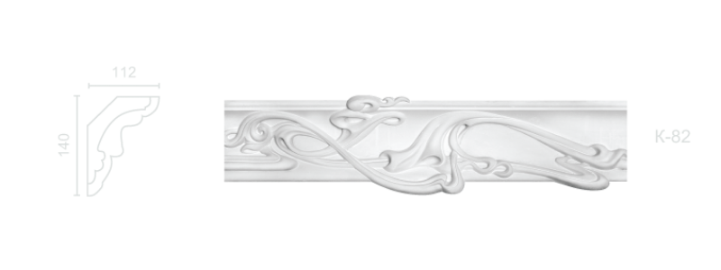 Enriched cornice С-82