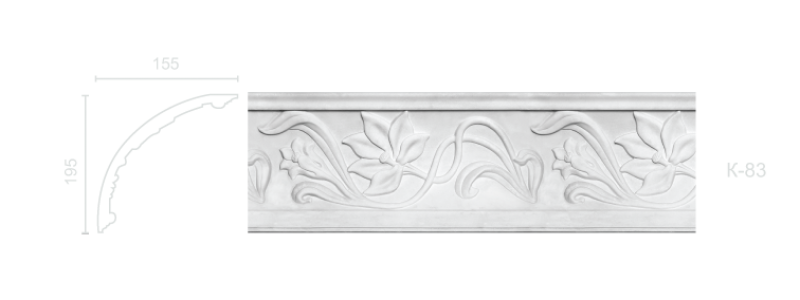 Enriched cornice С-83