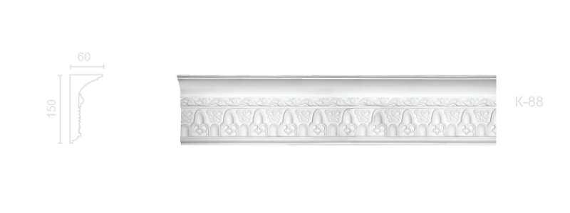 Enriched cornice С-88