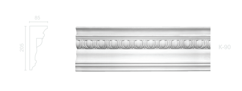 Enriched cornice С-90