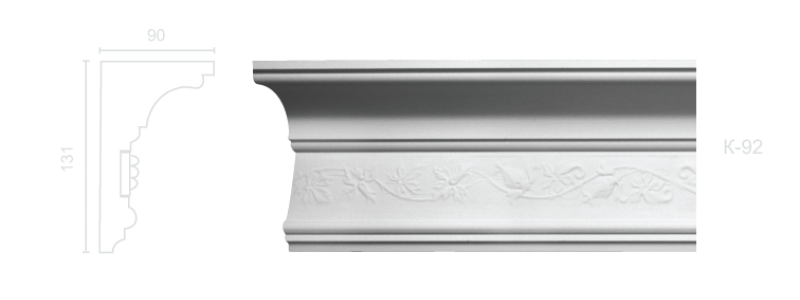 Enriched cornice С-92