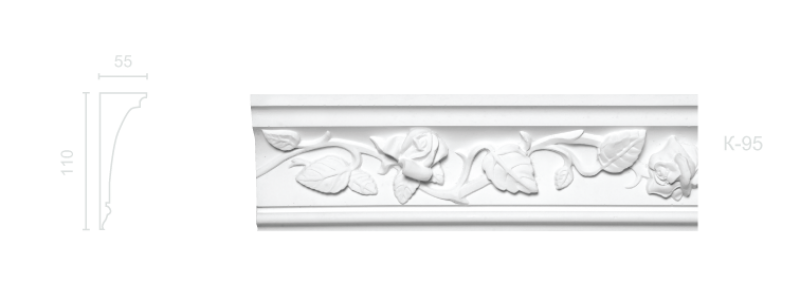 Enriched cornice С-95
