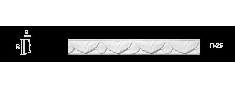 Plaster frieze P-25
