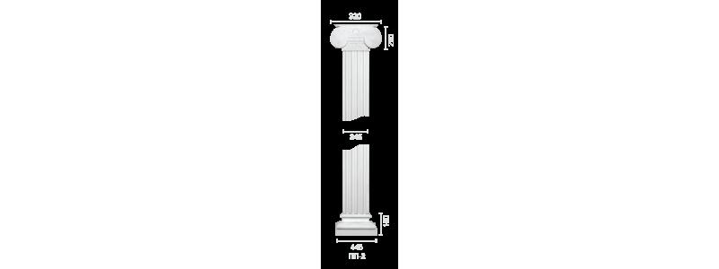 Plaster pilaster PR-2